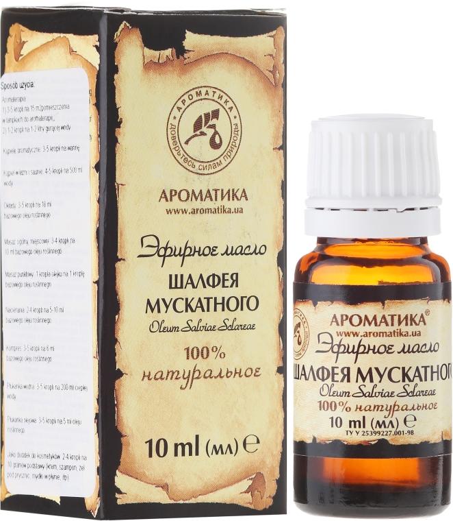 100% naturalny olejek z szałwi muszkatołowej - Aromatika — фото N1