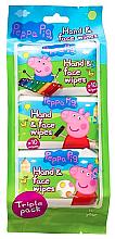 Kup Chusteczki dla dzieci do twarzy i rąk - Kokomo Peppa Pig Peppa Hand & Face Wipes