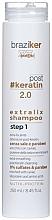 Kup Wygładzający szampon po keratynowym prostowaniu włosów - Braziker Keratin Straightening Shampoo