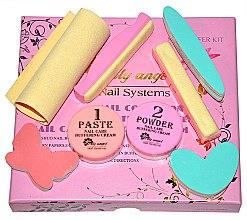 Kup Zestaw do manicure'u japońskiego - Silcare Lily Angel Nail Systems