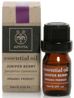 100% olejek jałowcowy - Apivita Aromatherapy Organic Juniper Oil — фото N1