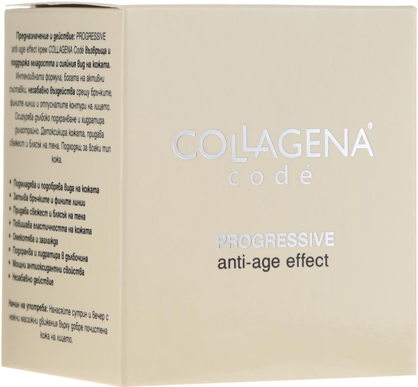 Progresywny krem przeciwstarzeniowy do twarzy - Collagena Code Progressive Anti-Age Effect — фото N1