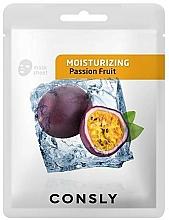 Kup Nawilżająca maska w płachcie do twarzy z ekstraktem z marakui - Consly Moisturizing Mask Pack Passion Fruit