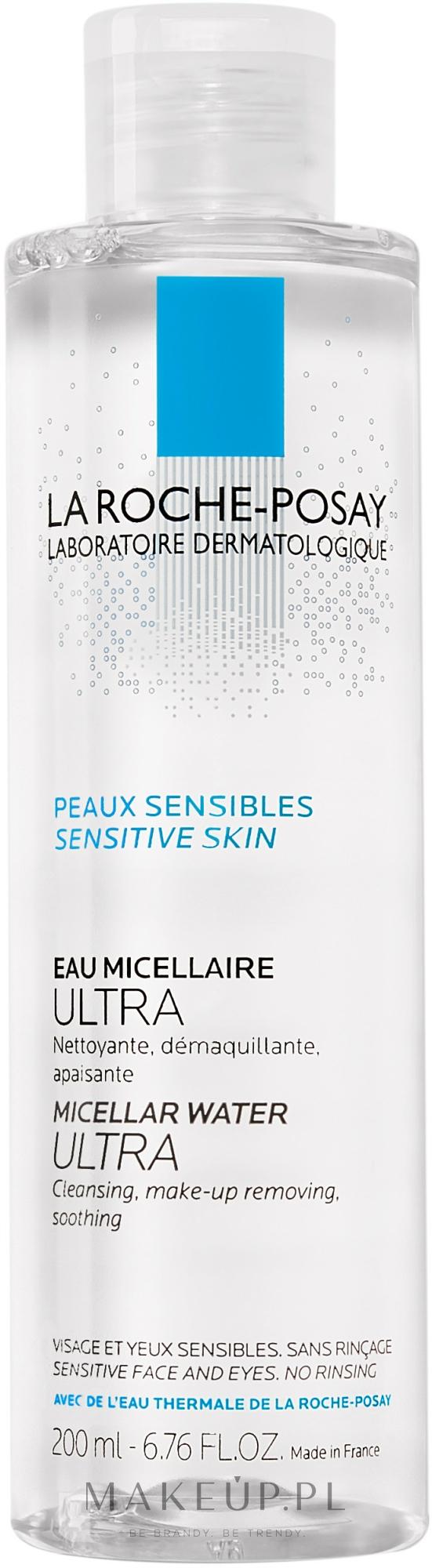 Woda micelarna do skóry wrażliwej - La Roche-Posay Micellar Water Ultra — фото 200 ml