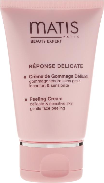 Łagodny krem peelingujący do skóry delikatnej i wrażliwej - Matis Paris Réponse Délicate Peeling Cream — фото N2