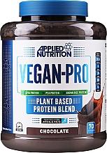 Kup Białko o smaku czekoladowym dla sportowców - Applied Nutrition Vegan Pro Chocolate Protein Blend