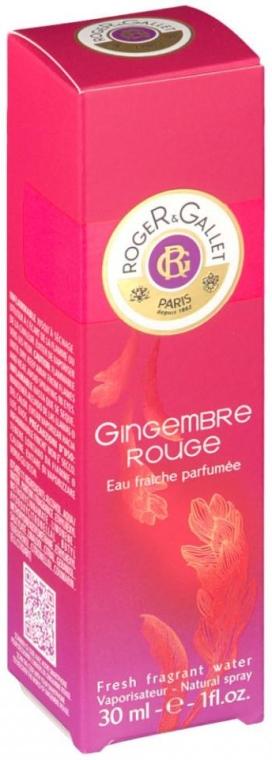 Roger & Gallet Gingembre Rouge - Odświeżająca woda zapachowa — фото N2