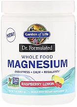 Kup Magnez w proszku o smaku malinowo-cytrynowym - Garden of Life Dr. Formulated