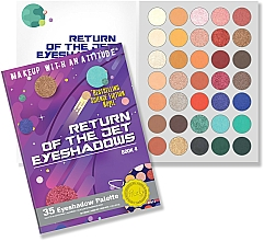 Kup Paleta cieni do powiek - Rude Return Of The Jet Eyeshadow Palette