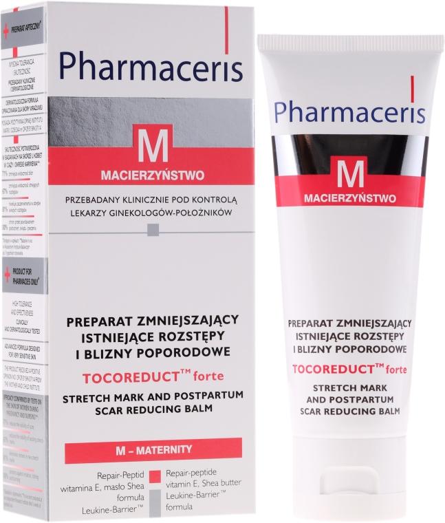Preparat zmniejszający istniejące rozstępy i blizny poporodowe - Pharmaceris M Tocoreduct Forte Stretch Mark Reduction Balm
