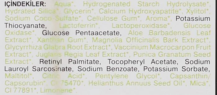 Bioaktywna naturalna pasta do zębów dla dzieci 6-11 lat Guma balonowa - SPLAT Junior Bubble Gum — фото N5
