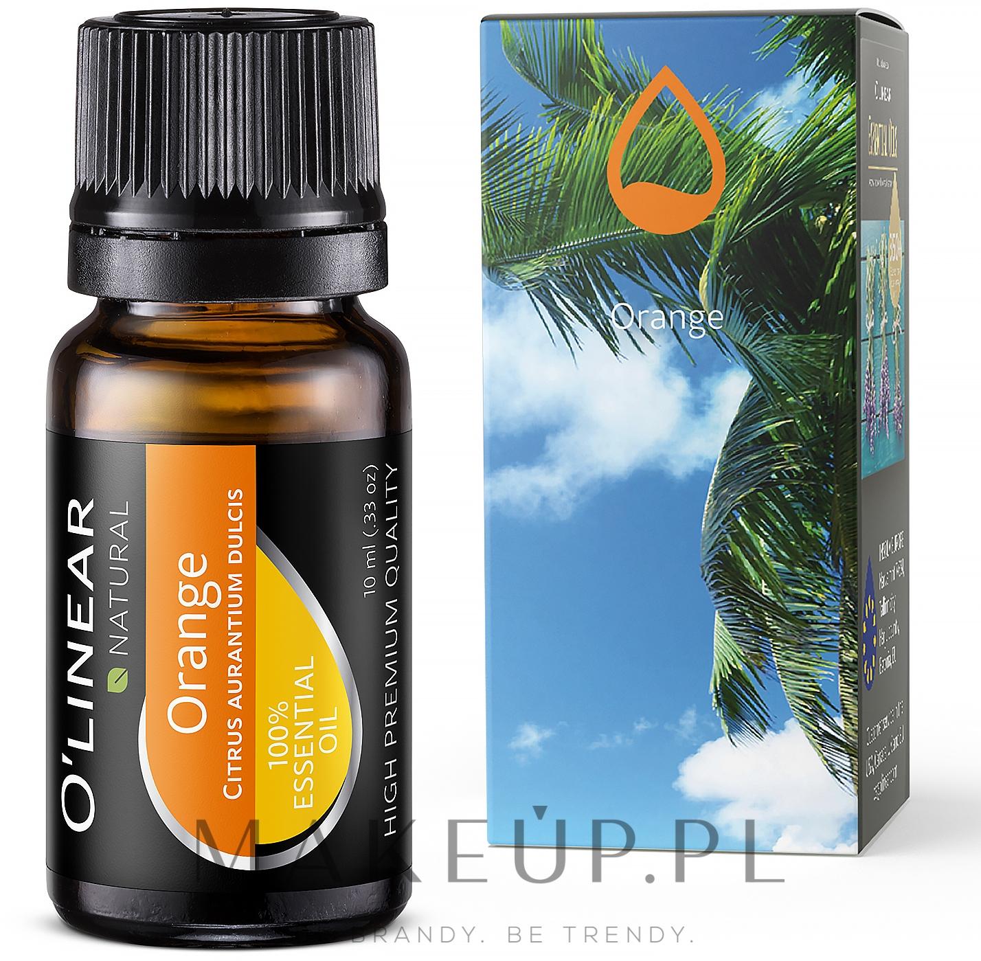 Olejek eteryczny z pomarańczy - O`linear Orange Essential Oil  — фото 10 ml