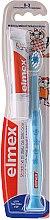 Kup Zestaw dla dzieci 0-3 lata: pasta do zębów + miękka szczoteczka, niebieska - Elmex Learn Toothbrush Soft + Toothpaste 12ml