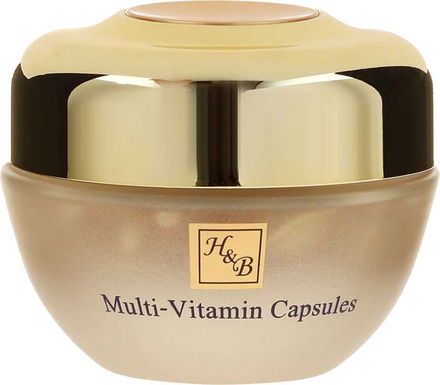 Kapsułki multiwitaminowe do szyi i dekoltu - Health And Beauty Multi-Vitamin Capsules For Neck And Decollete — фото N2