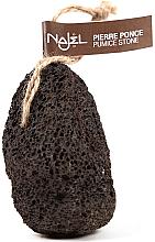 Kup Naturalny pumeks wulkaniczny Czarny - Najel Volcanic Pumice Foot Stone