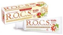 Kup Smakowa pasta do zębów dla dzieci - R.O.C.S. Kids Barberry Toothpaste