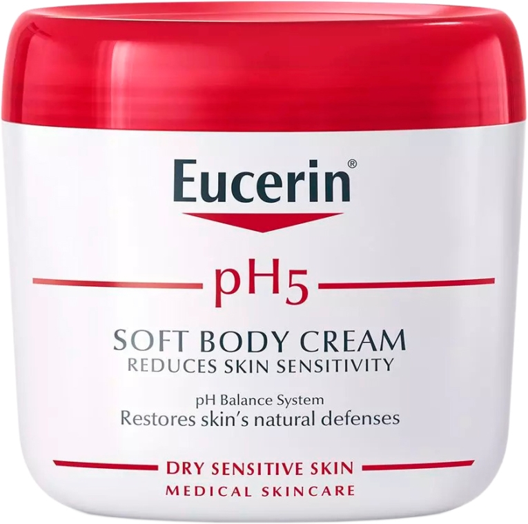 Łagodny krem do ciała - Eucerin pH5 Soft Body Cream — фото N1