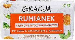 Kup Kremowe mydło rumiankowe w kostce - Gracja