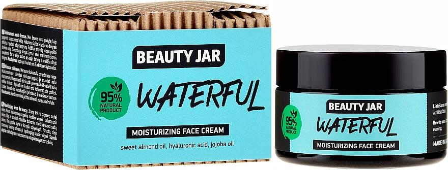 Nawilżający krem do twarzy - Beauty Jar Waterful Moisturizing Face Cream