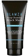 Kup Oczyszczająca maska rozświetlająca do twarzy - Glamza Deep Cleaning Black Face Mask