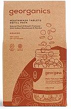 Kup Naturalne tabletki do płukania jamy ustnej Pomarańcza - Georganics Mouthwash Tablets Refill Pack Orange