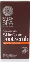 Kup Peeling do stóp - Natura Siberica Fresh Spa Russkaja Bania Detox White Cedar Foot Scrub
