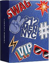 Kup PRZECENA! Carolina Herrera 212 Men NYC - Zestaw (edt 100 ml + edt/mini 10 ml)*