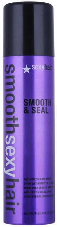 Wygładzający spray nabłyszczający włosy - SexyHair SmoothSexyHair Smooth and Seal Anti-Frizz and Shine Spray — фото N1