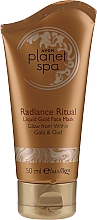 Kup Rozświetlająca maska do twarzy z płynnym złotem - Avon Planet Spa Radiance Ritual Liquid Gold Face Mask