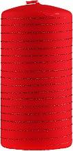 Kup Świeca dekoracyjna czerwona, 7 x 14 cm - Artman Candle Andalo