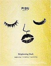 Kup Rozjaśniająca maska w płacie do twarzy - Pibu Beauty Brightening Mask