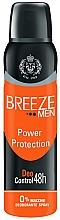 Kup Dezodorant w sprayu - Breeze Men Power Protection Deo Control 48H