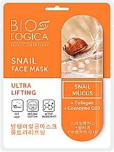 Kup Maska ze śluzem ślimaka Ultra lifting - Biologica Snail