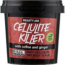 Kup Antycellulitowy suchy peeling do ciała z kawą i imbirem - Beauty Jar Cellulite Killer Anti-Cellulite Dry Body Scrub