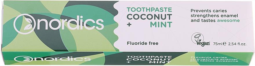Pasta do zębów Kokos i Mięta - Nordics Coconut + Mint Toothpaste