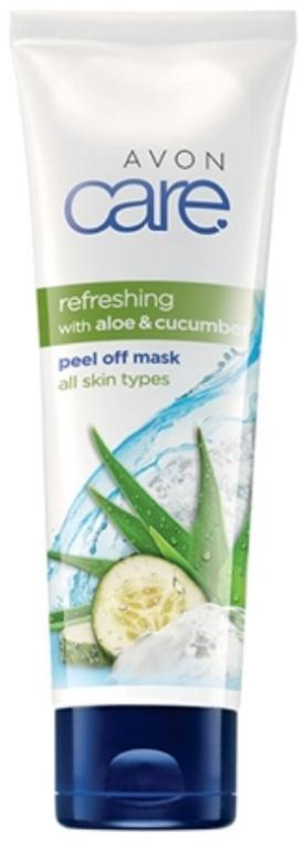 Odświeżająca maska peel-off do twarzy z aloesem i ogórkiem - Avon Care — фото N1