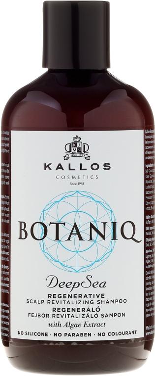 Regenerujący szampon rewitalizujący skórę głowy - Kallos Cosmetics Botaniq Deep Sea Shampoo