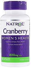 Kup Ekstrakt z żurawiny w kapsułkach - Natrol Cranberry Women's Health