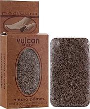 Kup Pumeks, 84x44x32 mm, Terracotta Brown - Vulcan Pumice Stone