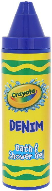 Żel pod prysznic dla dzieci - Crayola Bath & Shower Gel Denim — фото N1