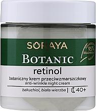 Kup Przeciwzmarszczkowy krem do twarzy na noc - Soraya Botanic Retinol Anti-Wrinkle Night Cream