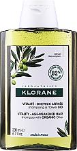 Kup Rewitalizujący szampon do włosów z organiczną oliwą z oliwek - Klorane Vitality Age-Weakened Organic Olive Hair Shampoo
