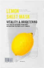 Kup Koreańska maseczka do twarzy z cytryną - Eunyul Purity Lemon Sheet Mask