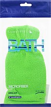 Kup Rękawica kąpielowa Zielona - Suavipiel Bath Micro Fiber Mitt Extra Soft