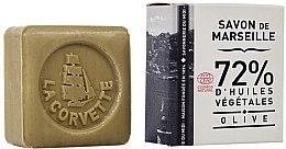 Kup Małe oliwkowe mydło w kostce - La Corvette Soap of Marseille Olive