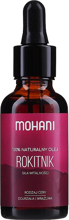 Olej rokitnikowy Pomarańczowa rewolucja - Mohani Precious Oils