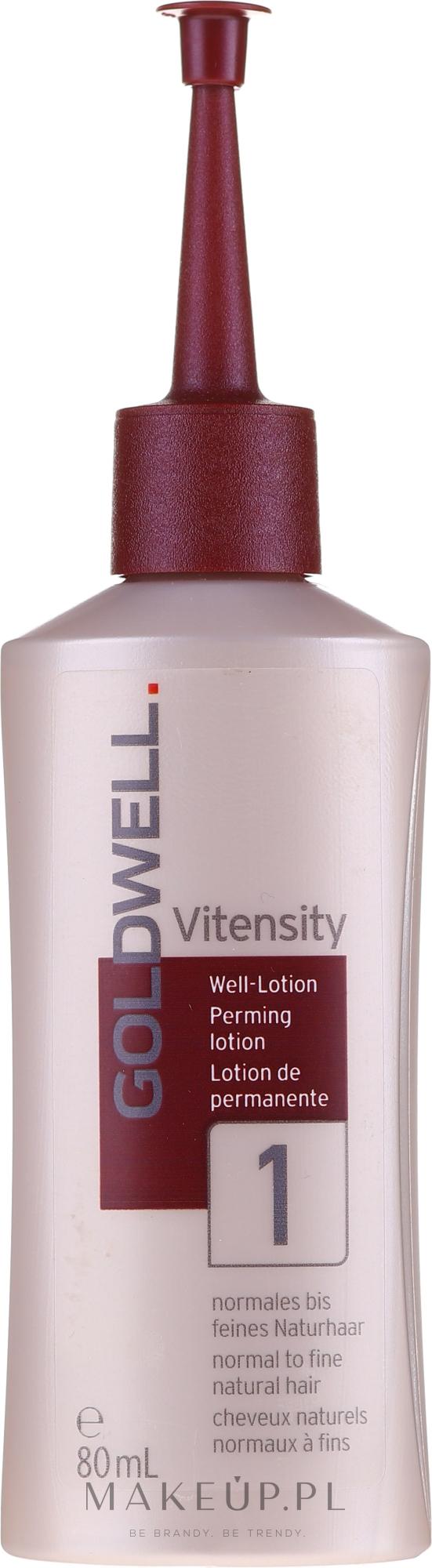 Płyn do trwałej ondulacji do włosów delikatnych - Goldwell Vitensity Performing Lotion 1 — фото 80 ml