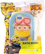 Kup Gąbka do kąpieli dla dzieci, Minionki, żółto-niebieska - Suavipiel Minnioins Bath Sponge