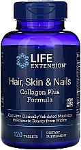 Kup Witaminy na włosy, skórę i paznokcie z kolagenem - Life Extension Hair Skin & Nails