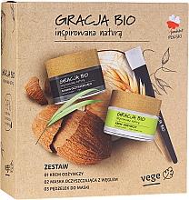 Kup Zestaw - Gracja Bio Inspired Nature (cr/50ml + mask/50ml + brush/1)